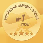 медаль Украинская народная премия